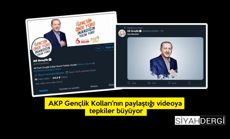 AKP Gençlik Kolları'nın paylaştığı videoya tepkiler büyüyor