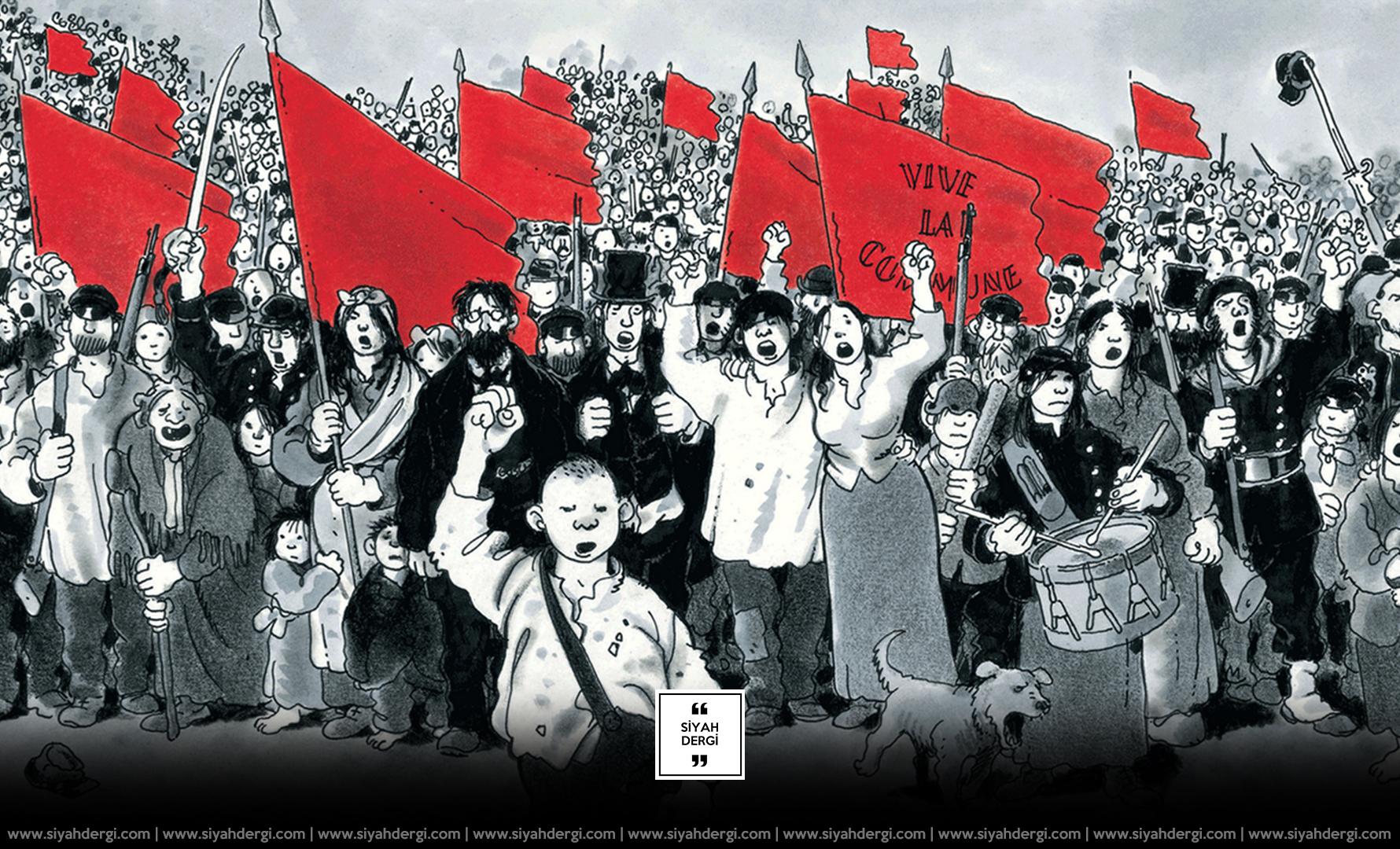 26 Mart 1871: Paris Komün Ayaklanması