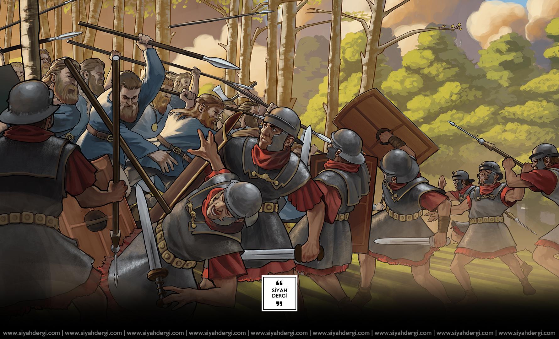 Teutoburg (Varus) Savaşının Etkileri Günümüzü Hala Etkiliyor