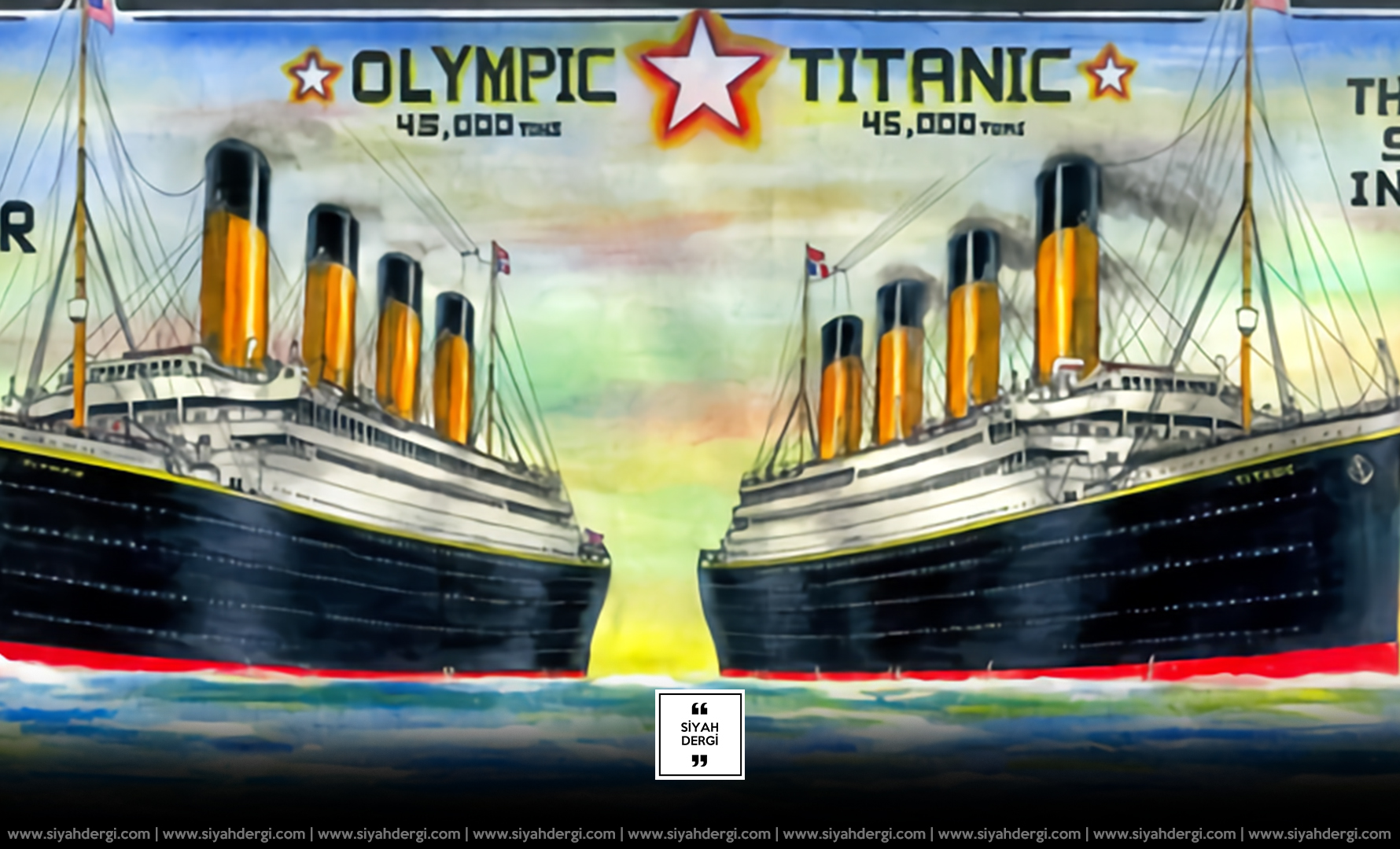 Titanik gerçekten battı mı?